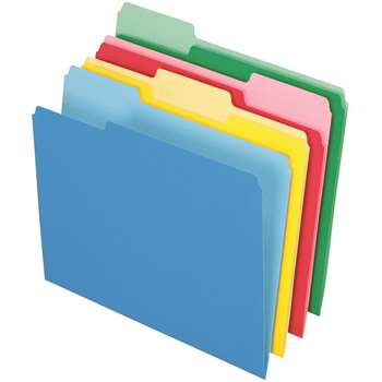 Pendaflex 24Ct Essentials File Folders Assorted Letter Size By Esselte