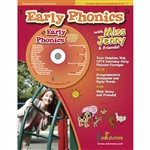 Early Phonics With Miss Jenny & Friends Cd Book Set By Edutunes