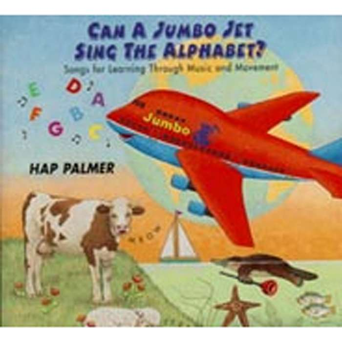 Can A Jumbo Jet Sing The Alphabet Cd By Educational Activities