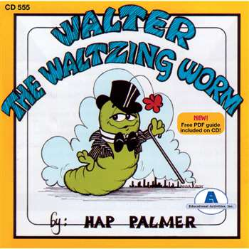 Walter The Waltzing Worm Cd By Educational Activities