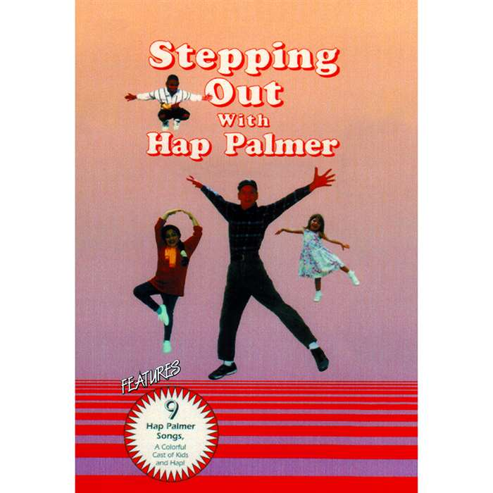 Stepping Out With Hap Palmer Dvd By Educational Activities