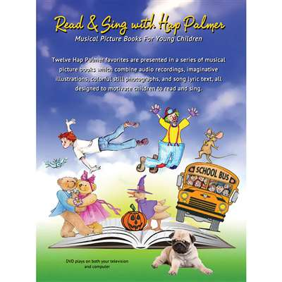 Read & Sing With Hap Palmer DVD, ETADVD837