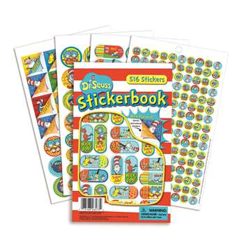 Shop Dr Seuss Corners Stickerbooks - Eu-609403 By Eureka