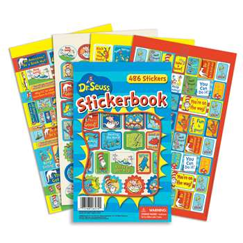Shop Dr Seuss Awesome Stickerbooks - Eu-609404 By Eureka