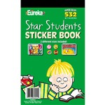Sticker Book Star Students 532/Pk By Eureka