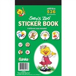 Sticker Book Suzy'S Zoo 536/Pk By Eureka