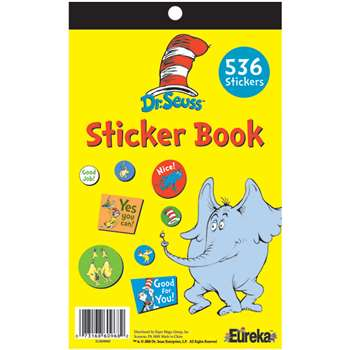 Dr Seuss Sticker Book By Eureka