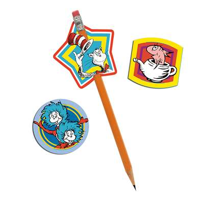 Dr Seuss Lenticular Pencil Topper, EU-610102