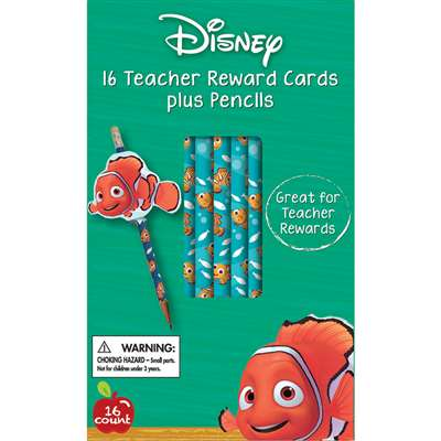 Finding Nemo Pencils With Toppers, EU-610133
