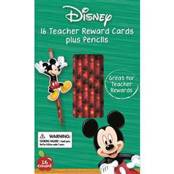 Mickey Pencils W/ Toppers, EU-610135
