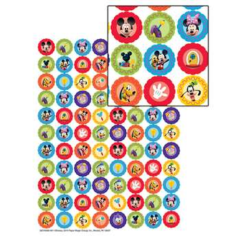 Mickey Mouse Clubhouse Gears Mini Stickers, EU-621002