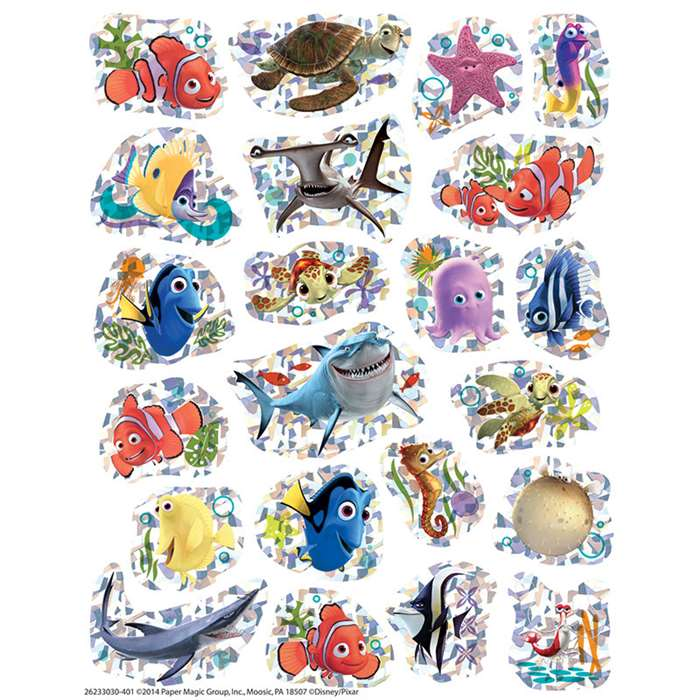 Finding Nemo Sparkle Stickers, EU-623303