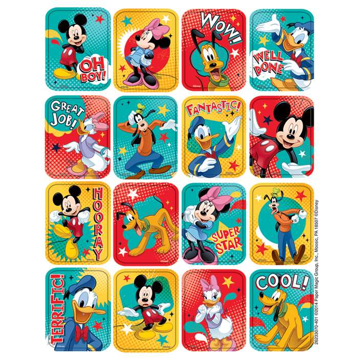 Mickey 3D Motion Lenticular Stickers, EU-623307
