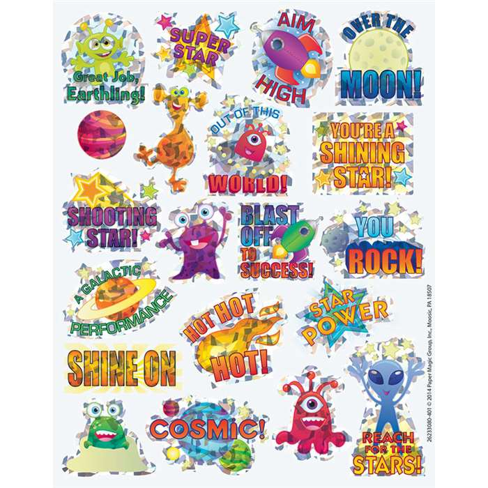 Space Sparkle Stickers, EU-623308