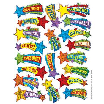 Shooting Stars Sparkle Stickers, EU-623311