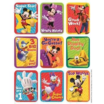 Shop Mickey Mouse Clubhouse Motivational Giant Stickers - Eu-650032 By Eureka