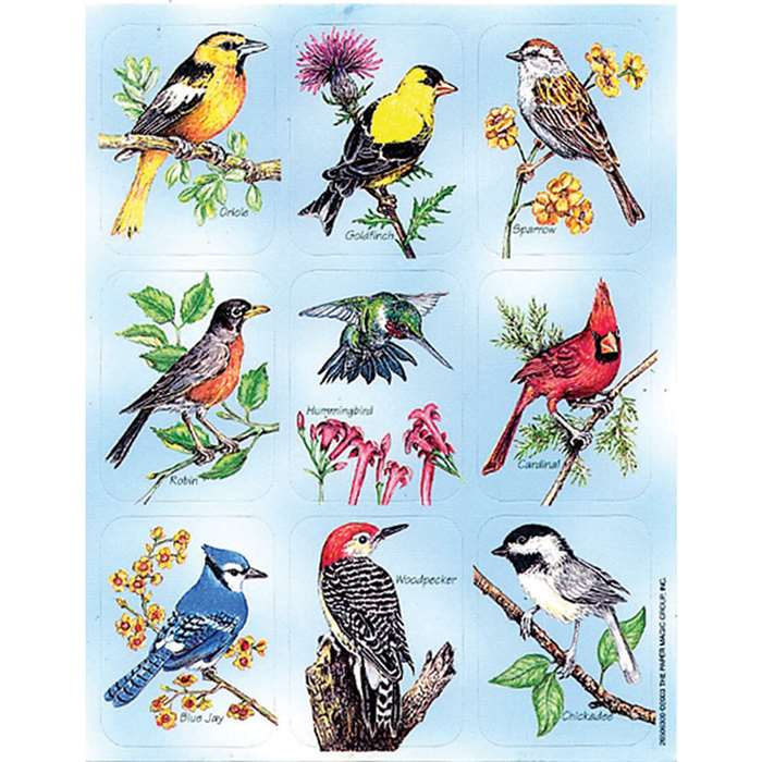 Birds Giant Stickers By Eureka