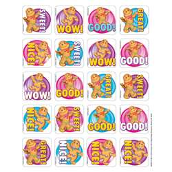 Candy Land Gingerbread Scented Stickers, EU-650911