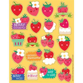 Strawberry Scented Stickers, EU-650917