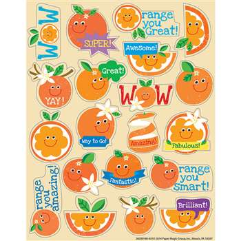 Orange Scented Stickers, EU-650918