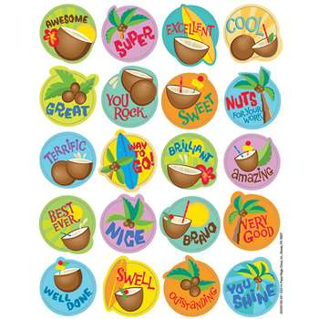 Coconut Scented Stickers, EU-650919