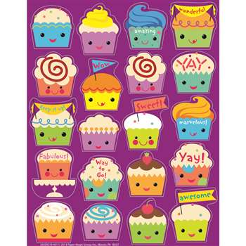 Cupcake Scented Stickers, EU-650921