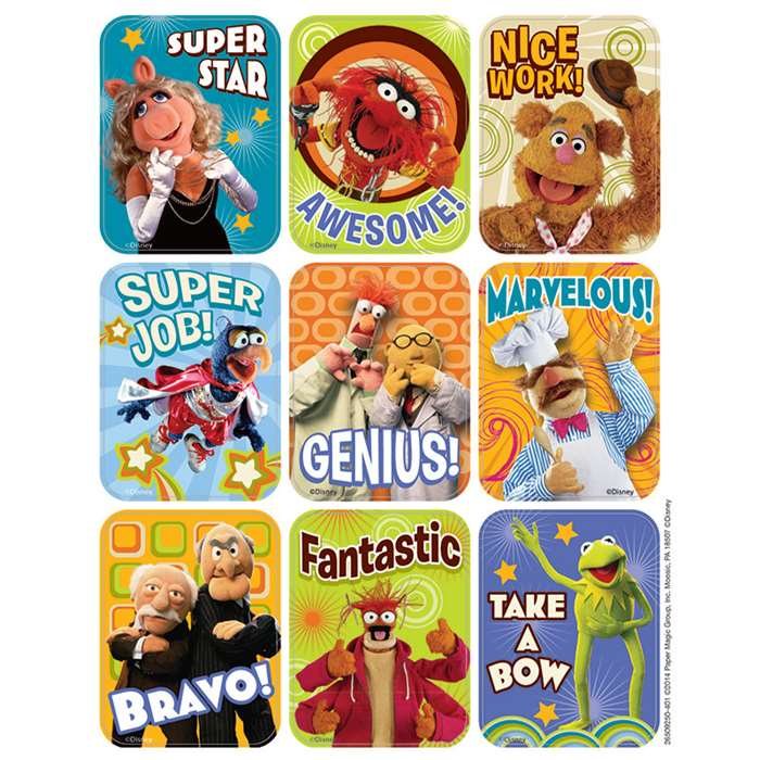 Muppets Giant Stickers, EU-650925