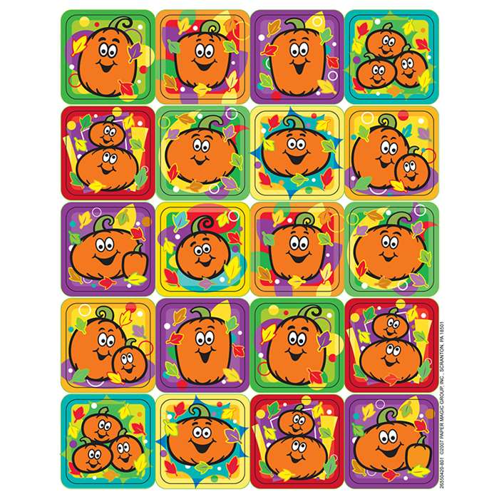 Pumpkins Theme Stickers By Eureka