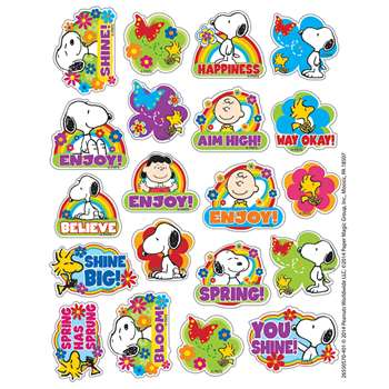 Peanuts Spring Theme Stickers, EU-655057