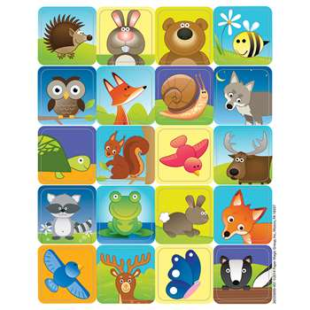 Woodland Creatures Theme Stickers, EU-655069