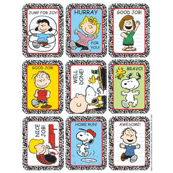 Stickers Peanuts Characters By Eureka