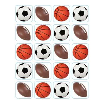 Mixed Sports Theme Stickers By Eureka