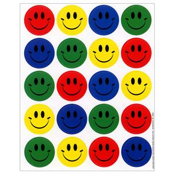 Smiles Theme Stickers By Eureka