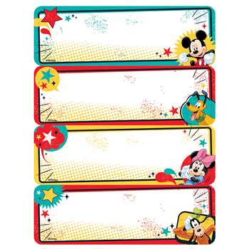 Mickey Label Stickers, EU-656140