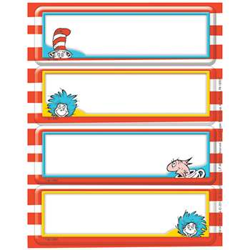 Dr. Seuss Label Stickers, EU-656141