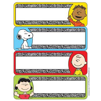 Peanuts Composition Label Stickers, EU-656143
