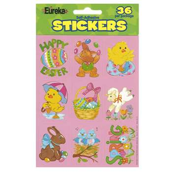 Easter Giant Stickers By Eureka