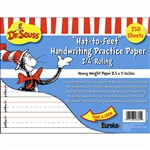 Dr Seuss Hat To Feet 300Sht Handwriting Practice Paper By Eureka