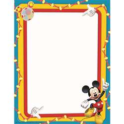 Shop Mickey Mouse Clubhouse Primary Colors Computer Paper - Eu-812117 By Eureka