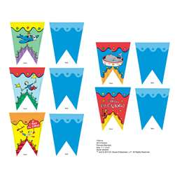 Dr Seuss - If I Ran The Circus Pennant Banner, EU-822203