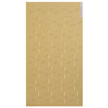 Stickers Foil Stars 1/2 Inch 250/Pk Gold By Eureka