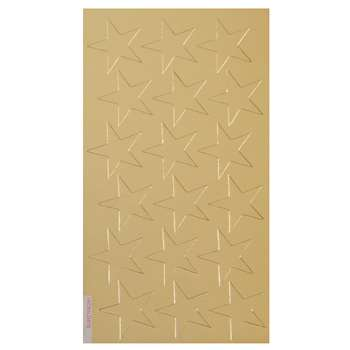 Stickers Foil Stars 3/4 Inch 175/Pk Gold By Eureka