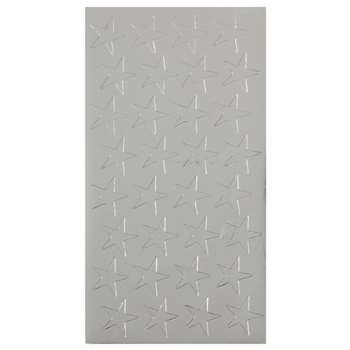 Stickers Foil Stars 1/2 Inch 250/Pk Silver By Eureka