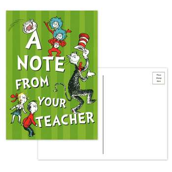 Cat In The Hat Teacher Cards By Eureka