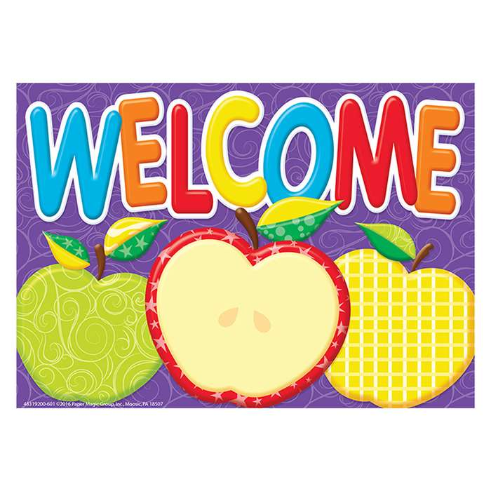 Color My World Welcome Teacher Cards, EU-831920