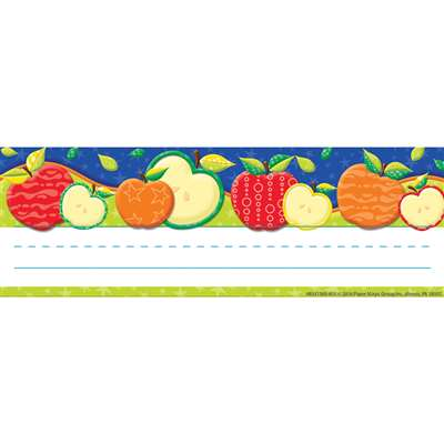 Color My World Self Adhesive Apple Name Plates, EU-833136