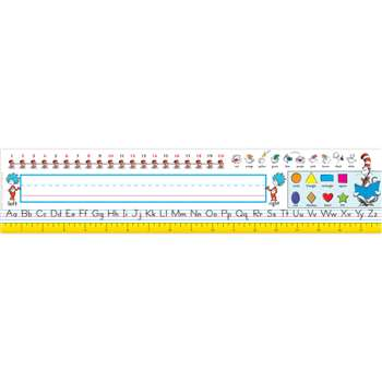 Seuss-Cat In The Hat Elementary K-1 Large Nameplates By Eureka