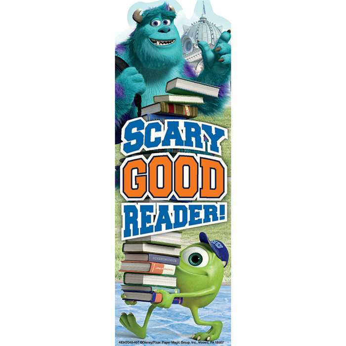 Shop Monsters University Scary Good Reader Bookmarks - Eu-834204 By Eureka