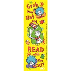Shop Dr Seuss Grab Your Hat Bookmarks - Eu-834206 By Eureka