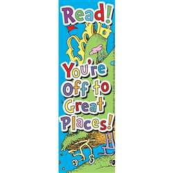 Seuss - Oh The Places You'Ll Go Bookmark By Eureka